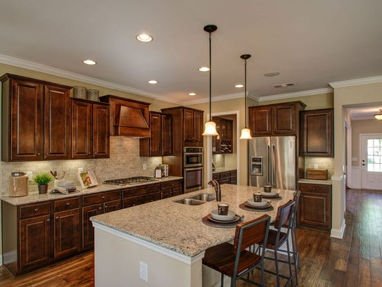 A kitchen in a Pulte home. Pulte has two communities