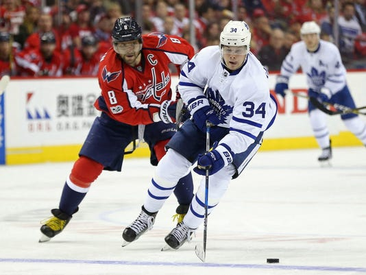 USP NHL: STANLEY CUP PLAYOFFS-TORONTO MAPLE LEAFS S HKN WSH TOR USA DC