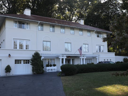 The exterior of 533 Riverside Drive in Sleepy Hollow,