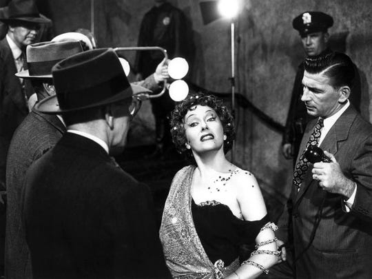 """She's ready for her closeup. Gloria Swanson is Norma Desmond in the 1950 classic """"Sunset Boulevard."""""""