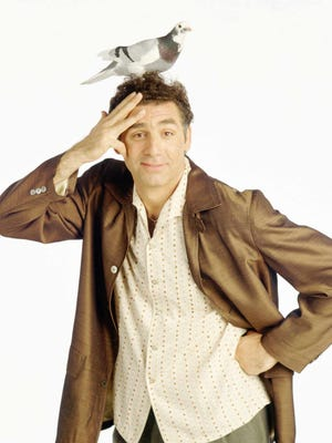 Cosmo Kramer (Michael Richards) enjoys inexplicable success in life for someone with hair so stupid, which makes him a riot for Jerry Seinfeld to live across the hall from. Just maybe try locking the door once in a while.