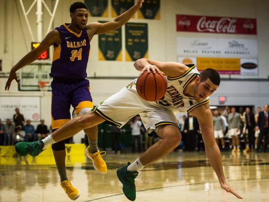 UVM's Payton Henson is one of six seniors to be honored Wednesday.