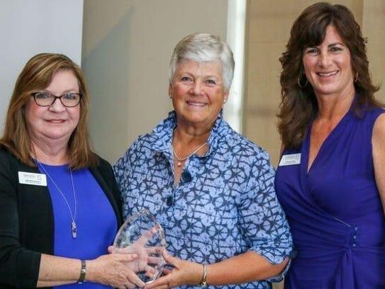 SafeSpace CEO Jill Borowicz, left, Sharon Beauchamp,