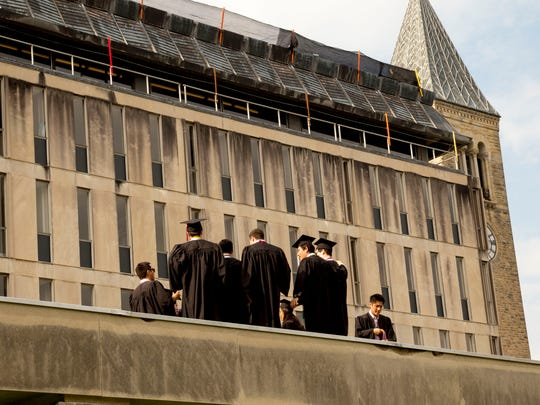Cornell University's Class of 2016 bowed out on Sunday at the University's 148th commencement ceremony.