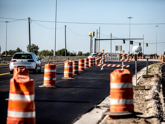 After a year and a half, work on the Ohio 310 interchange