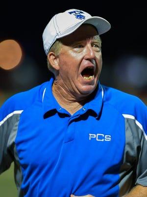 Presbyterian Christian head coach Joey Hawkins has turned around the PCS program and built it into a powerhouse.