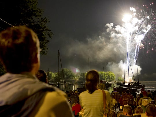 Fireworks are a part of summer in America, one respondent said.