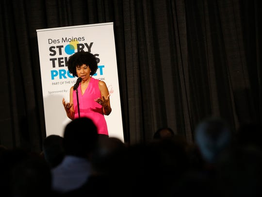 Clemen Wilcox tells her story of finding out about