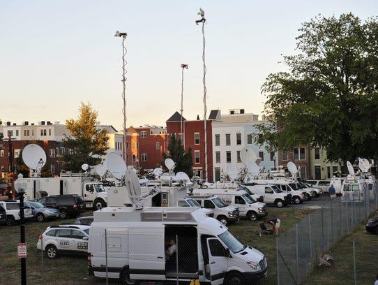 tv crews