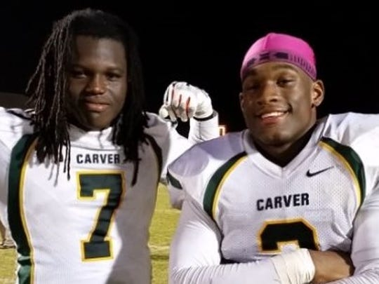 Mark Davidson and Mack Wilson were both stars at Carver.