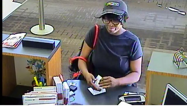Police say a robbery suspect was wearing a black ball cap, black T-shirt and black pants at the Bank of America on 4405 Harding Pike Tuesday morning.