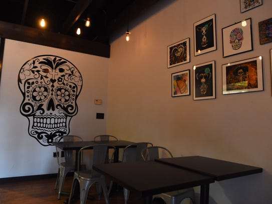 A view of the back dining area at Milo's Cantina in