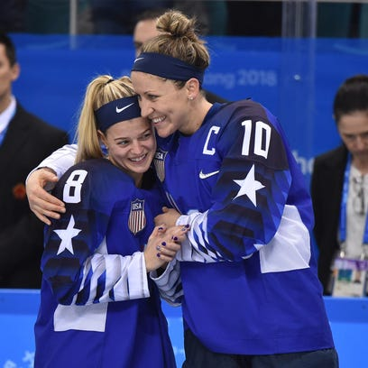 Buffalo-native Pfalzer, at 5-foot-2, stands tall as USA women win gold in hockey