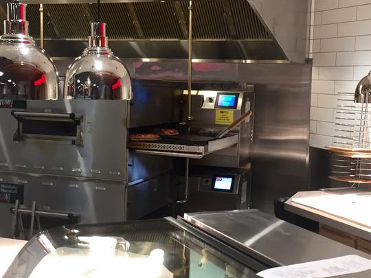 Made-to-order pies are cooked in about three minutes at the new Piezzetta Pizza Kitchen in Circus Circus Reno.