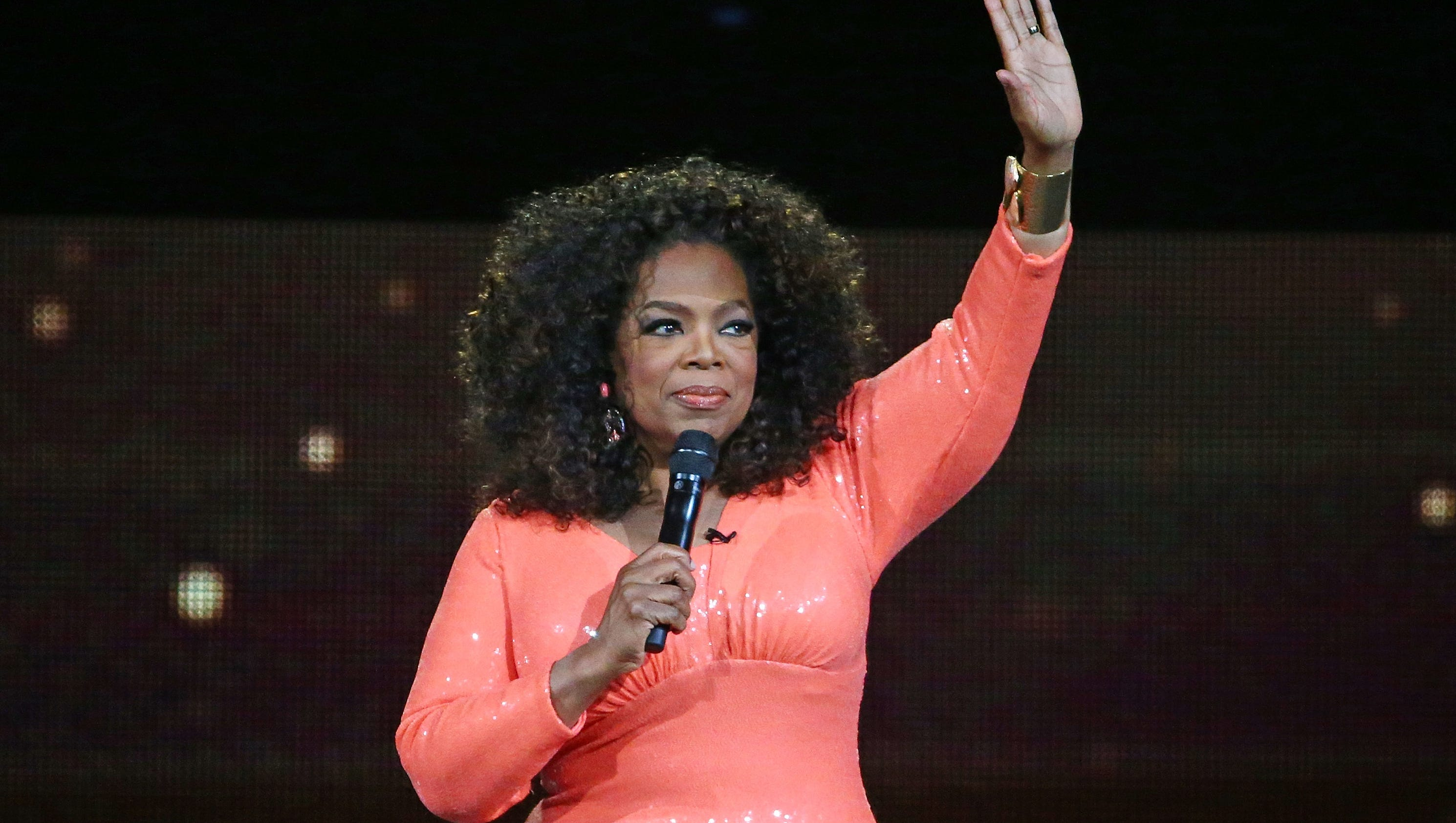 oprah winfrey the story of Oprah winfrey accepted the cecil b demille award for lifetime achievement at the golden globes on sunday and delivered a moving speech that brought men and women in the audience to their feet.