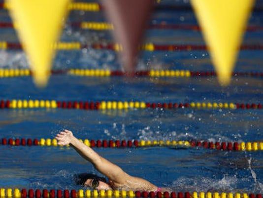 ASU swimming