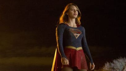 "Kara and Astra take part in a Zack Snyder-like flight fight over National City in the ""Supergirl"" winter finale."