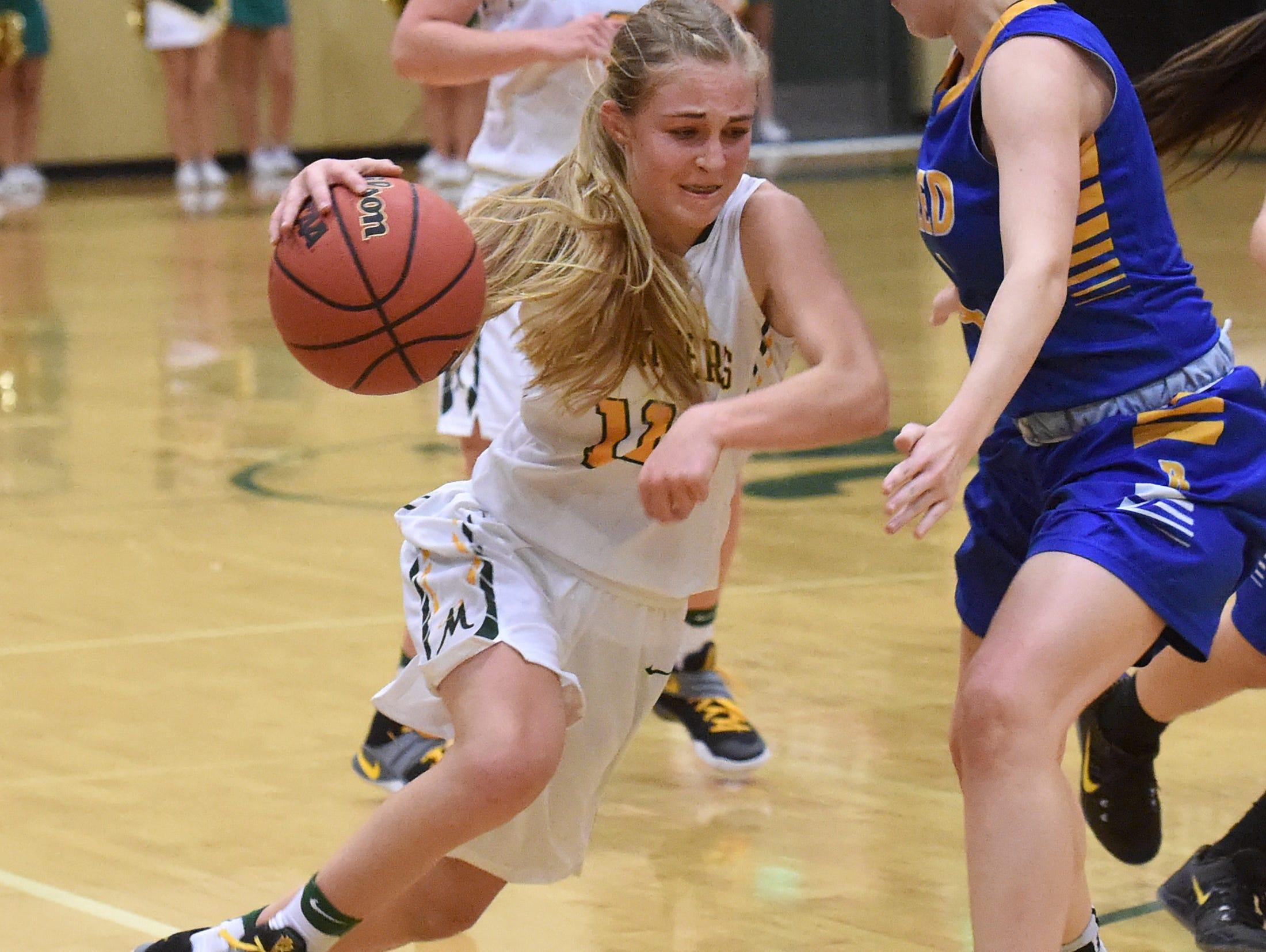 Bishop Manogue freshman Kenna Holt is on the All-USA Northern Nevada 4A basketball team.