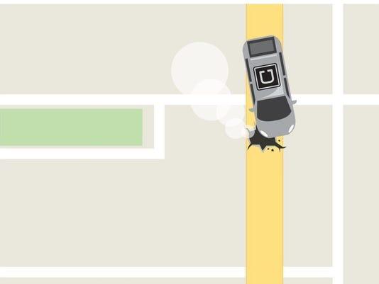Uber illustration
