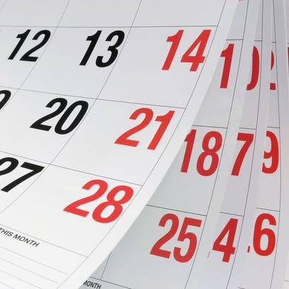 FDL area community resources calendar