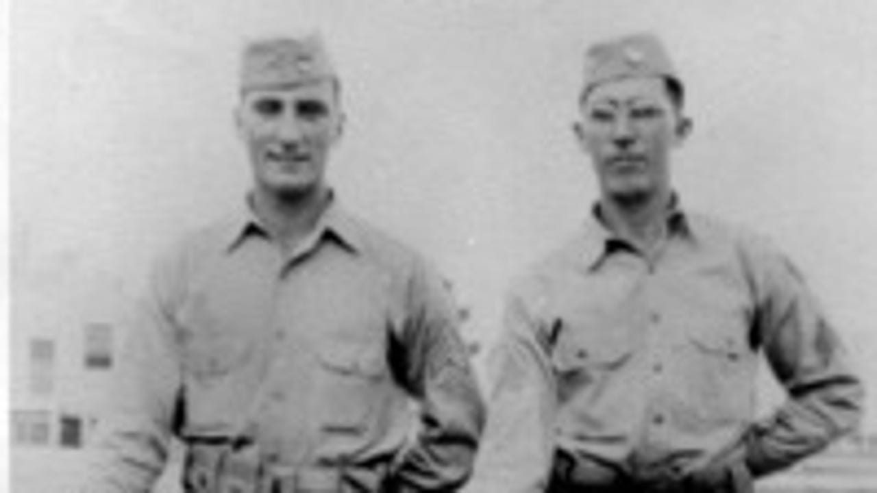 Letters home during the war shed new light on the lives and heroism of two local soldiers who fought on D-Day.
