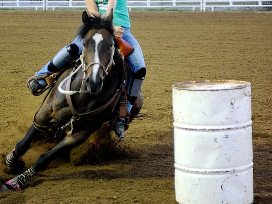 Barrel racers will pound the dirt at the Bridwell Center