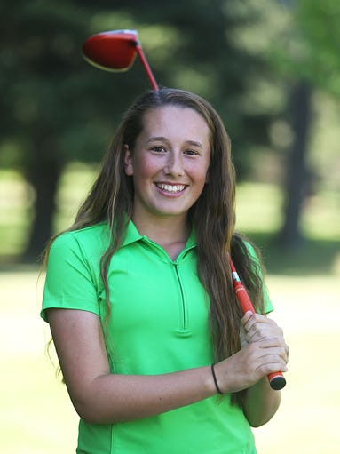 South Salem freshman Ellie Slama is the Statesman Journal All-Mid-Valley girls golfer of the year.