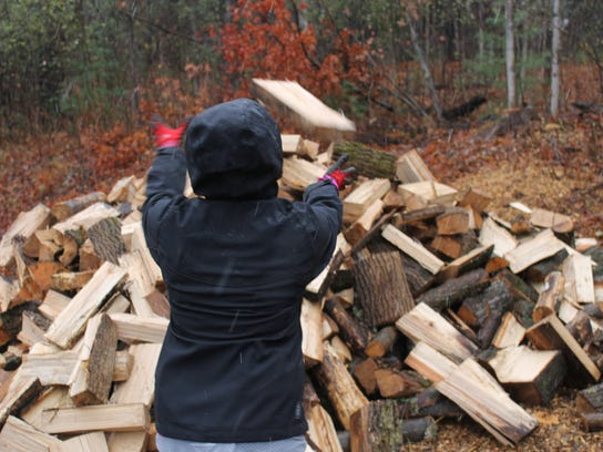 Some firewood suppliers in the Northeast say they are working to ensure people have enough dry firewood to heat their homes for the rest of the winter.