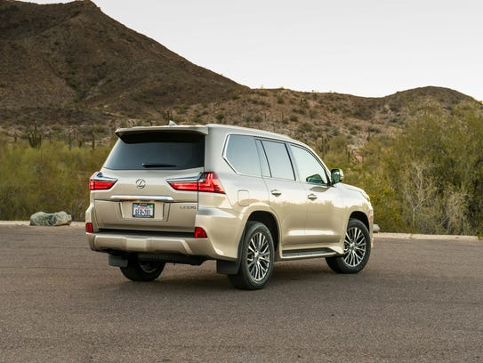 Lexus LX 570 comes in a two-row version