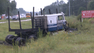 Truck belonging to Mo's Trucking out of Palatka in Monday's crash.