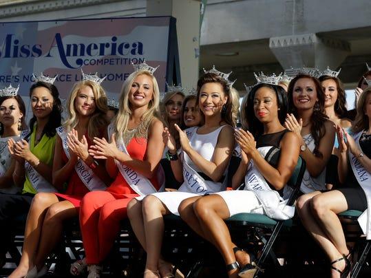 Miss America Arrivals
