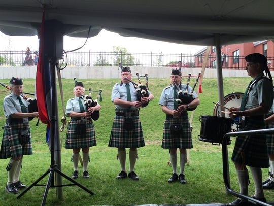 St. Andrews Society Pipes and Drums - Champlain College