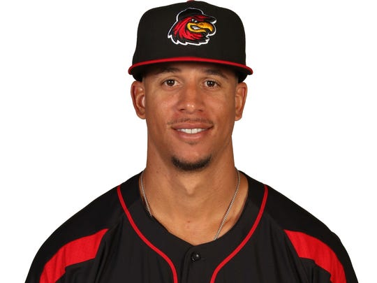 Quintin Berry, Red Wings infielder