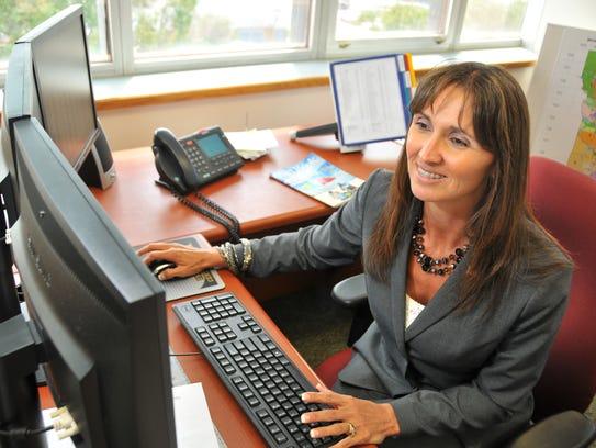 Brevard County Property Appraiser Dana Blickley characterizes