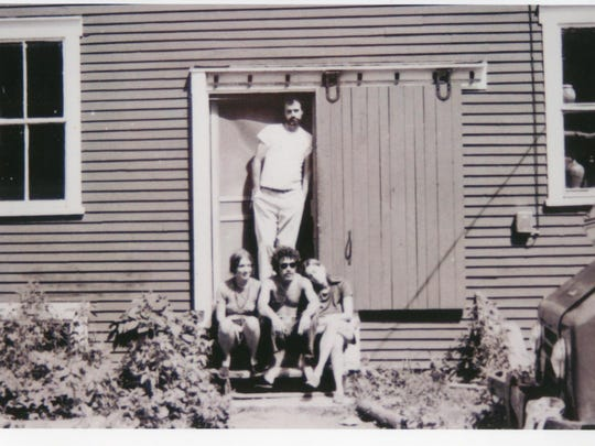 Members of the Maple Hill Commune in 1972.