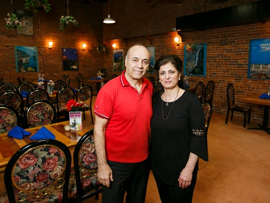 After 20 years, George Doughly and his wife Nahla Armouch