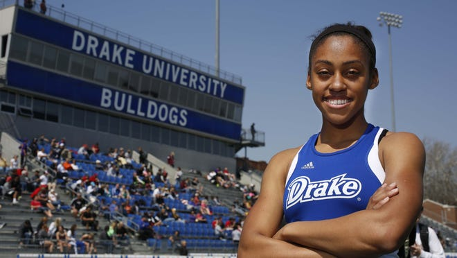 Drake's Mary Young will try to become the first Bulldog woman to win a Relays event this week in 20 years.