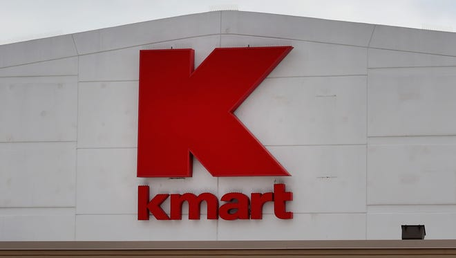 A sign hangs outside of a Kmart store on March 22, 2017 in Chicago, Illinois.