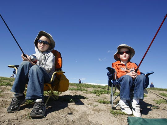 Lewistown hosts its annual Kids' Fishing Day Saturday.