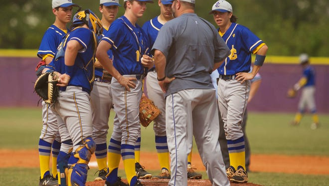 A tight-knit John Carroll Catholic baseball team is two wins from the program's first state championship since 1978. The Golden Rams face two-time defending state champion Fort Myers-Canterbury in a Class 3A state semifinal Wednesday in Fort Myers.