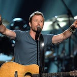 Dierks Bentley performs onstage during ACM Presents: An All-Star Salute To The Troops at the MGM Grand Garden Arena in 2014 in Las Vegas. He performed Wednesday at the Montana State Fair.