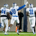 MTSU football hangs on for 35-30 win against Arkansas State in Camellia Bowl
