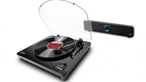 Air LP wireless streaming turntable system by ION Audio.