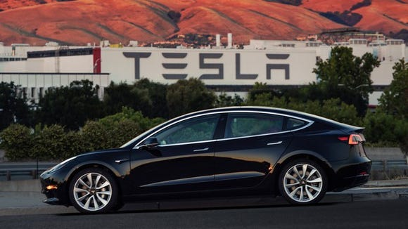 Tesla delivered the first production example of its Model 3 earlier this month. The customer? Elon Musk.
