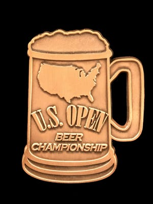 The medal awarded to bronze-level winners at the U.S. Open Beer Championship. Beaver Island Brewing Co. took home two bronze medals for their Sweet Miss and Check Pils beers.