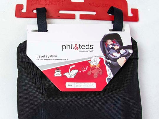 Phil&Teds Travel System 26 infant car seat adaptors for strollers can crack, become unstable and break during use, posing a risk that an infant could fall.