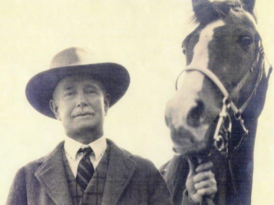 Chauncey Clark in the 1920s.