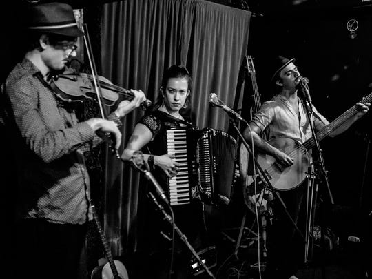 Combine gritty love of world folk traditions with a modern songwriting sense for a night of post-modern folk with Portland trio Three for Silver.