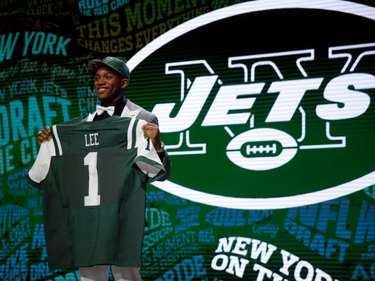 First round pick Darron Lee has made a big impact as a rookie.. (AP Photo/Charles Rex Arbogast)