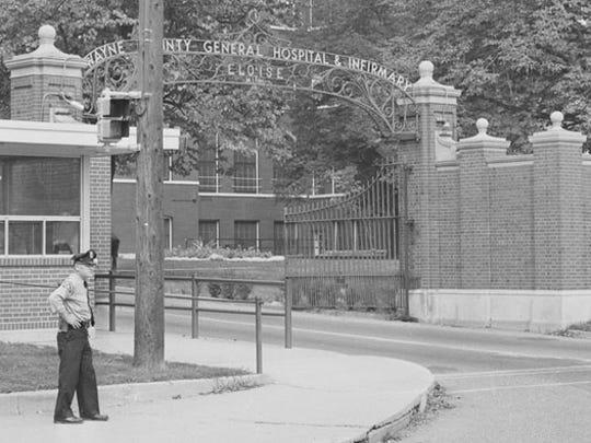 In 1940, Eloise Hospital's mentally ill population